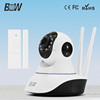 July Promotion!Home security wireless real time monitor p2p hd 360 degree camera