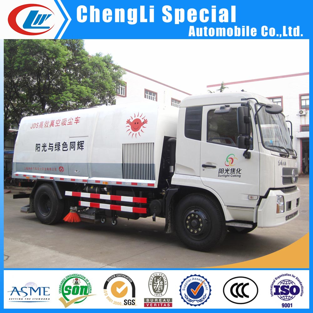 Sweeping Construction Road Vehicle for Dirt Suction Sweeper Truck for sale