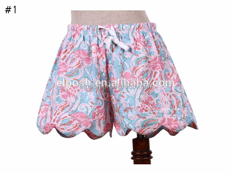 Wholesale personalized Summer Beach Printed Girls Shorts