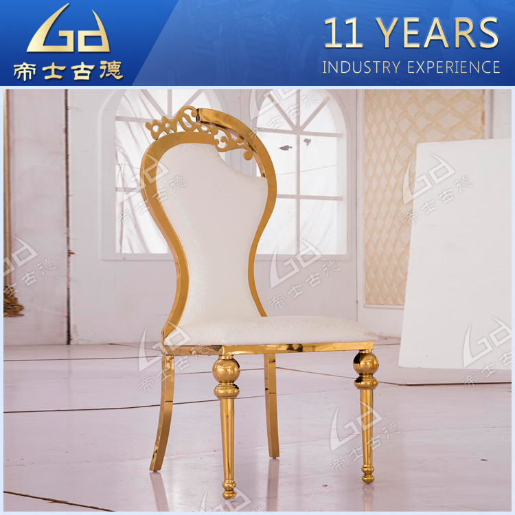China cheap french style white wedding throne chairs for sale