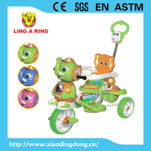 Children tricycle Hot sale style new models with elephant head and music and light and canopy