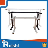 Office furniture desk lifting columns with controller and handset motorized standing desk