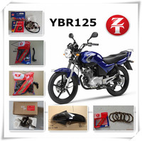 popular model in South Africa, YBR125CC motorcycle spare parts