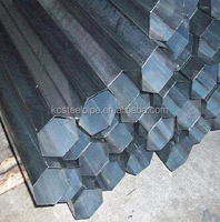 hollow hexagonal stainless steel pipes