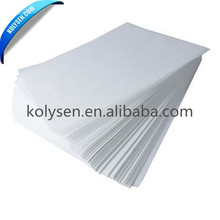 White glossy pp synthetic paper for printing