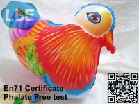 free sample animal custom chickens foil balloon