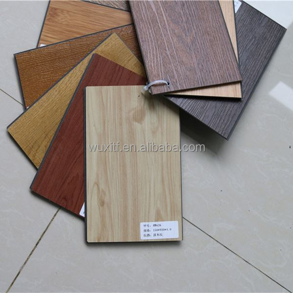 wood looking CE / ISO9001/ISO14001 pvc vinyl flooring roll white