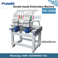 Fuwei 1202 two heads machines like tajima computerized embroidery machine price for hat embroidery machine sale