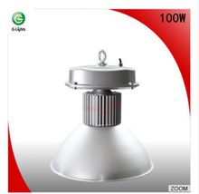 high lumen IP65 warehouse industrial cob bridgelux 120v 100w led garage high bay lighting with ce rohs