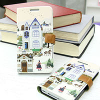 Fairy Tale Book_Happymori Design Flip Phone Cover Case for Apple iPhone 6 (Made in Korea)