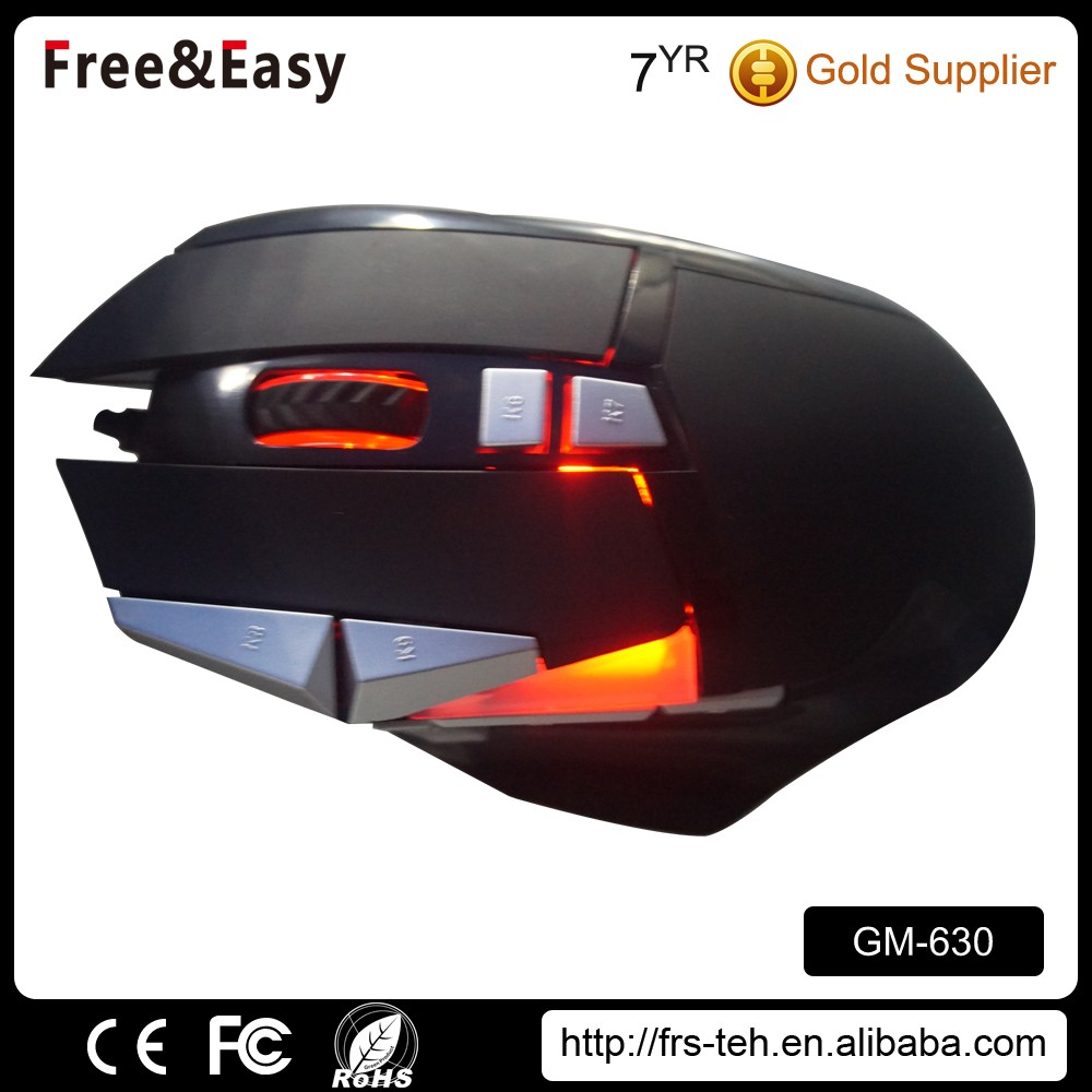 New design 10D optical wired gaming computer mouse