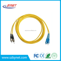 Sm / Mm Sx Fc to Sc Optical Fiber Patch Cord And Cables