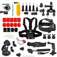 for gopros accessories set for Go Pro kit mount for SJ4000 for Go Pro hero action camera chest strap