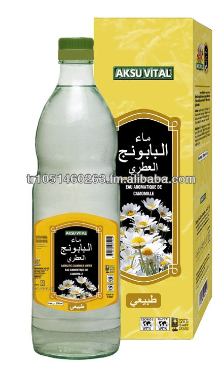Aromatic Chamomile NATURAL HERBAL FLAVOURED WATER Vital Health Drink