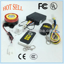 Long-distance panic button alarm system of motorcycle/motorcycle remote start