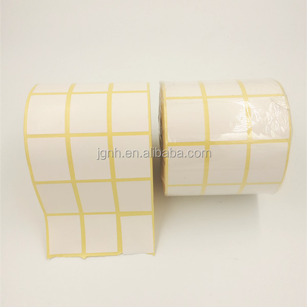 High Temperature Anti Theft Barcode Label Scale Sticker Roll