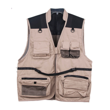 Clean inventory customize outdoor vest fishing vest photographic vest
