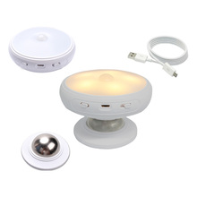 mini USB charging private night lamp automatic motion sensor led night light