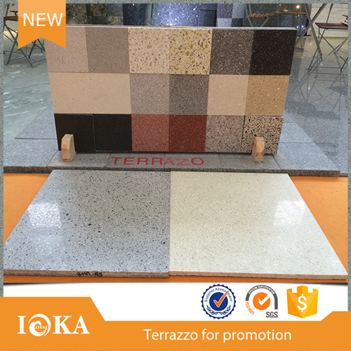 Top 3 factory! Nantong Medical crushed terrazzo stone family use
