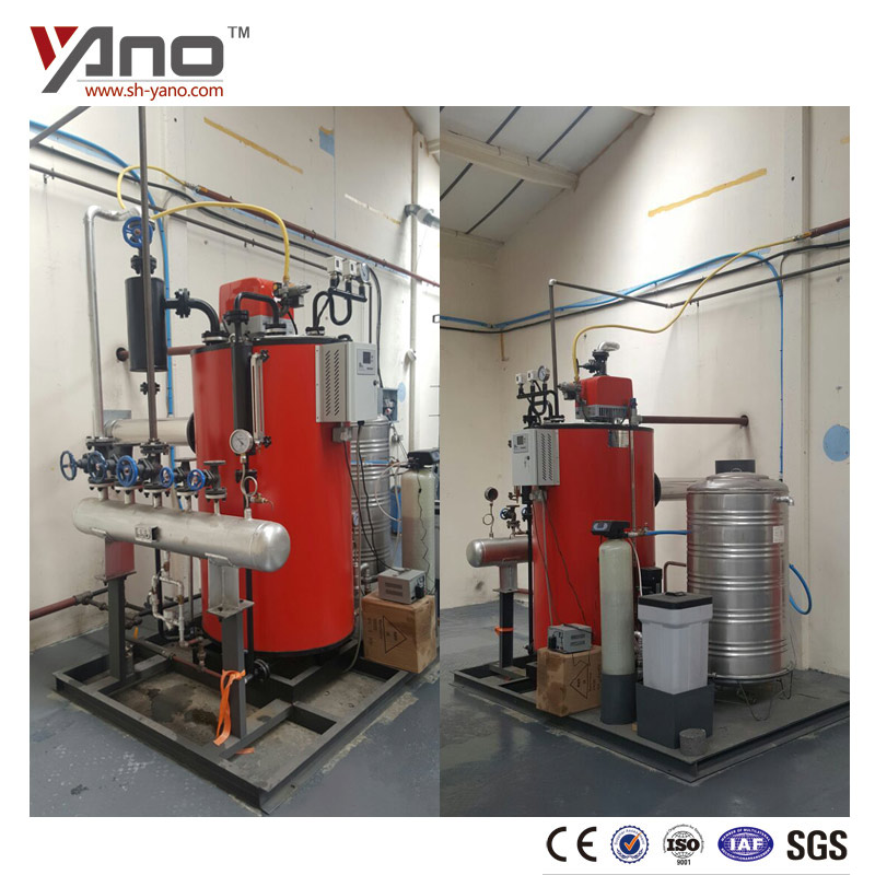 Yano Brand High Quality Cooking Boiler 50-1000kg Powered Natural Gas/ Diesel Oil Fired Steam Boiler For Food Industries
