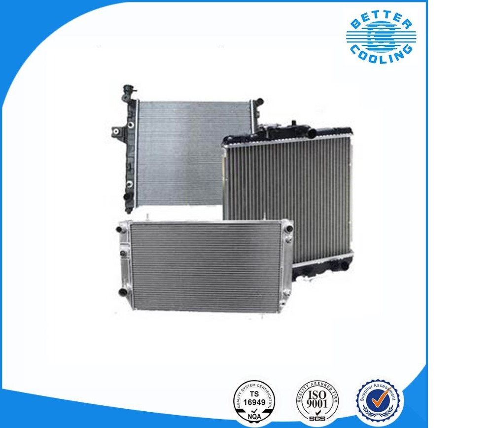 High performance customizable aluminum truck radiator for Volvo