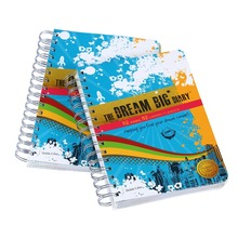 a4 a5 customized spiral bound notebook printing cheap notebook printing