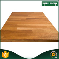 Hot selling solid wood restaurant table top , laminated ogee bullnose edges countertop with low price