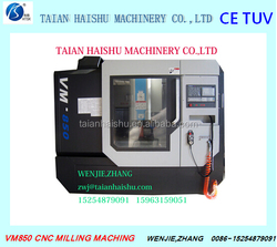 VM850 high quality low price Fanuc CNC vertical machining centre with CE from Taian Haishu