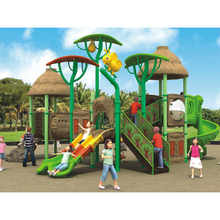 Pre-school Kids Entertainment And Exercise Outdoor Plastic Slide Playground Equipment For Sale