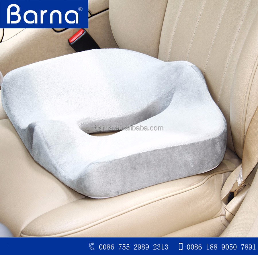 non-slippery orthopedic latest memory foam chair/seat cushion wholesale cool breathable seat cushion for car/stadium/chair