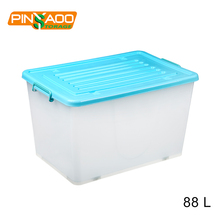 Eco-Friendly Customized Clear Household Plastic Boxes Storage Bins