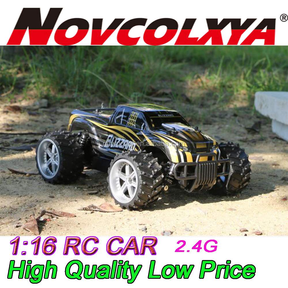 1:16 2WD Monster Truck High Speed RC Car nitro big toy cars