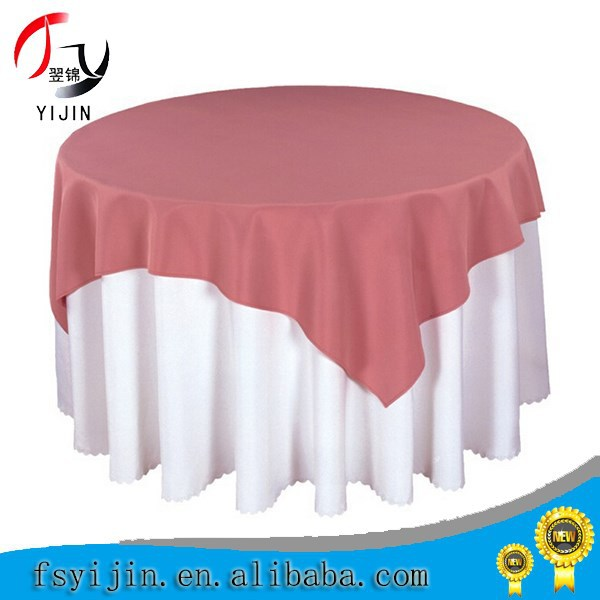 Double Layer Party Polyester Table Cloth