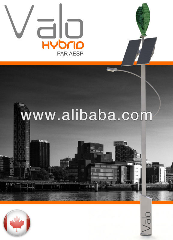 Valo Hybrid Street Lights