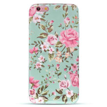 China mobile phone accessories, Flower Case For iphone6 case, For iphone 6 case cover