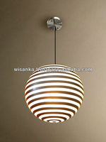 Zebra Hanging Lamp