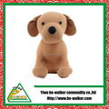 Cute Christmas Polyester Gift Plush Dog Toy For Children In Holiday Gift