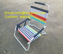 (Furniture)Good Quality Cheap beach chair/ mini Portable folding beach lounge chairs