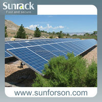 Solar Power Mount Structure,Panel Installation Mounting Support, Solar Module Mounting System