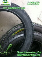 LOTOUR brand coloured motorcycle tyre