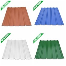 Plastic flashing roof for factory