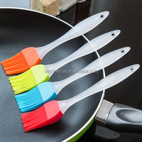 Kitchenware Food Grade silicone basting brush BBQ Oil Brush