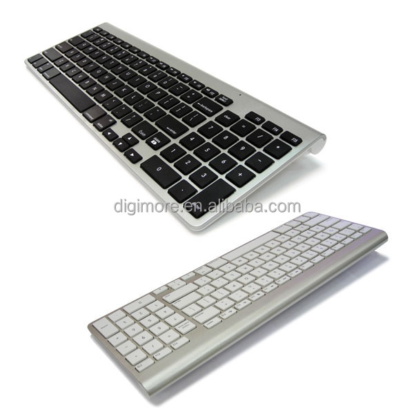 2 Zone Wireless Bluetooth Keyboard for Mac OS, iOS, Android tablet PC