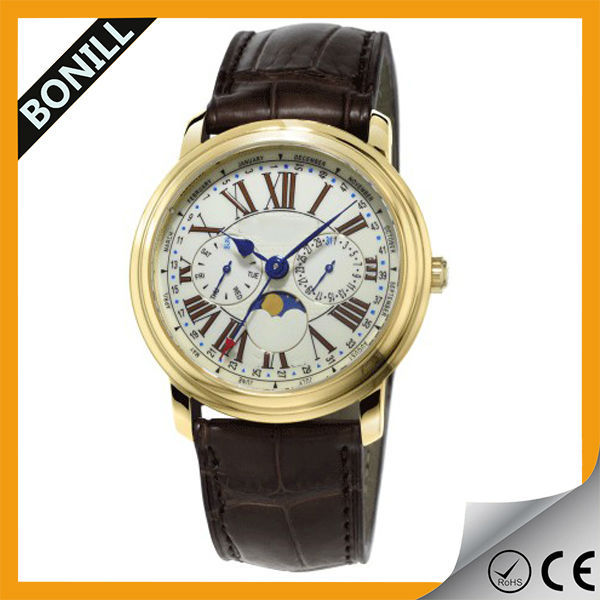 high quality mens watches with visible mechanism skeleton