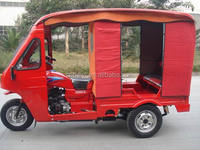 2016 new hot sale Chinese popular new style petrol open passenger large tricycle