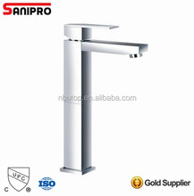 Sanipro Brass Bathroom wash basin Faucet Basin Mixer Tap,chrome Finished
