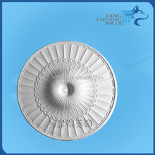 Metropolitan Lighting Round Canopy Gypsum Ceiling Rose Rosette