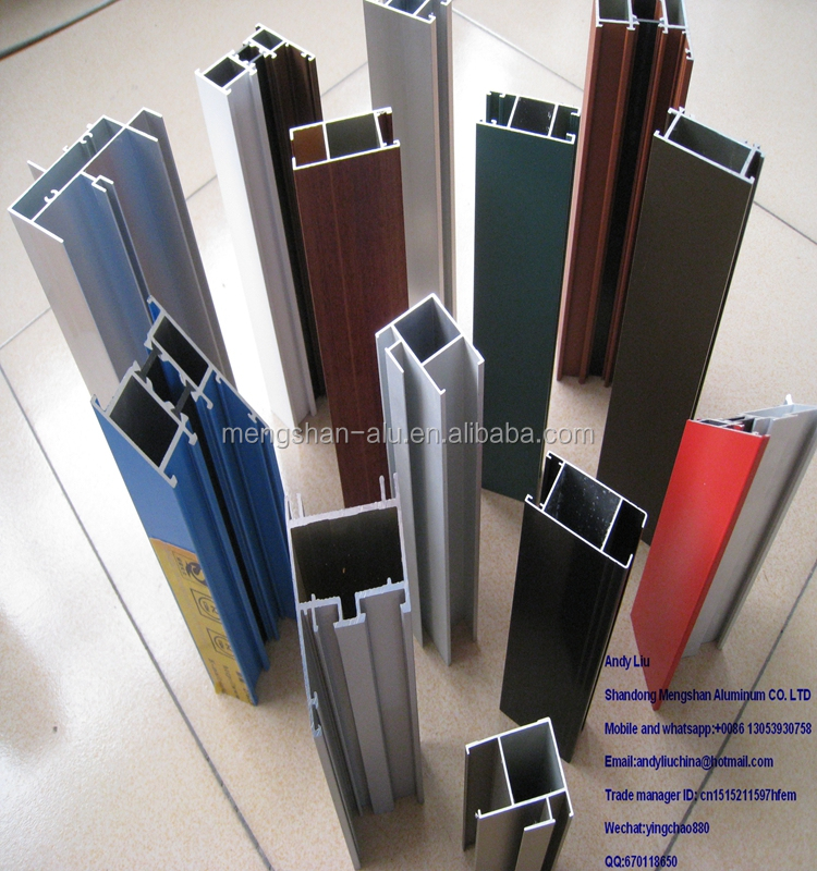 China facotry supply Aluminum Sunroom/Greenhouse/Skylight System Aluminium Profile for greenhouse