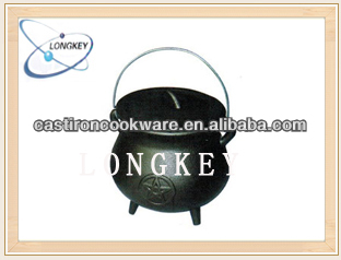 Hot Sale Cast Iron Camping Dutch Oven / Cast Iron Pot