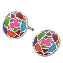 Round Earrings will never fade cartoon cute style